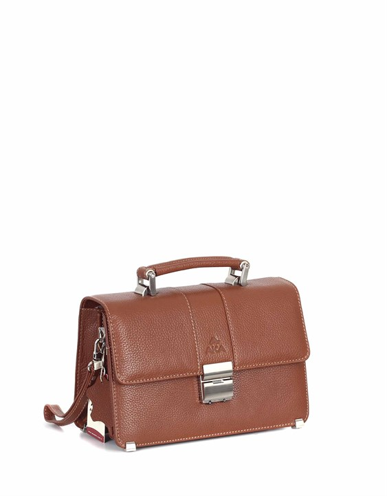 Genuine Leather Portfolio Bag - 148 - 6