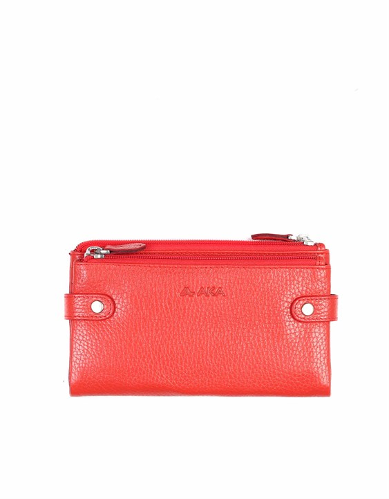 Genuine Leather Women's Wallet-400 - 36
