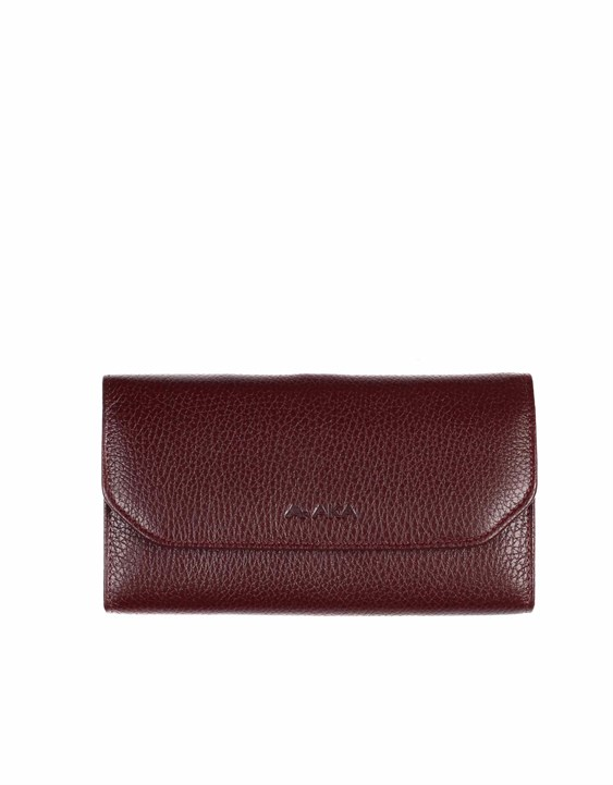 Genuine Leather Women's Wallet-490 - 70