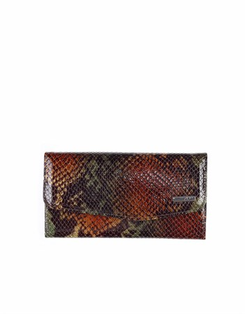 Genuine Leather Womens Wallet-472 - 105