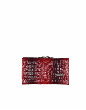 Genuine Leather Womens Wallet-423 - 30