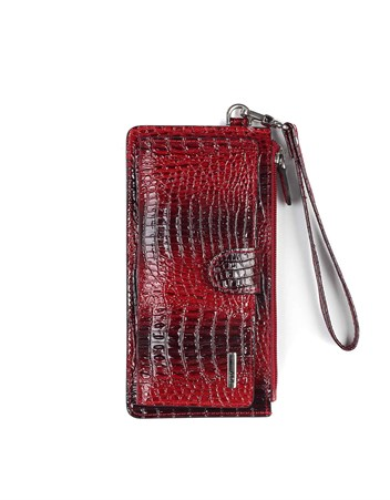 Genuine Leather Womens Wallet-451 - 31
