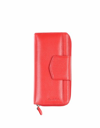 Genuine Leather Womens Wallet-428 - 36