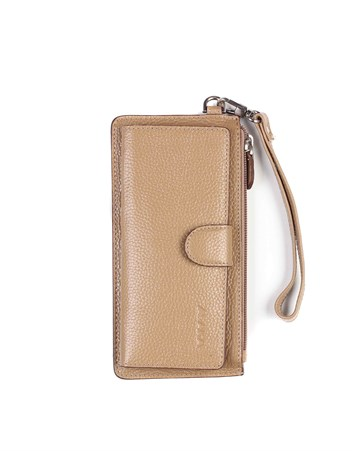 Genuine Leather Womens Wallet-451 - 38