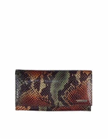 Genuine Leather Womens Wallet-443 - 105