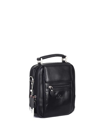 Genuine Leather Portfolio Bag - 305 - 1