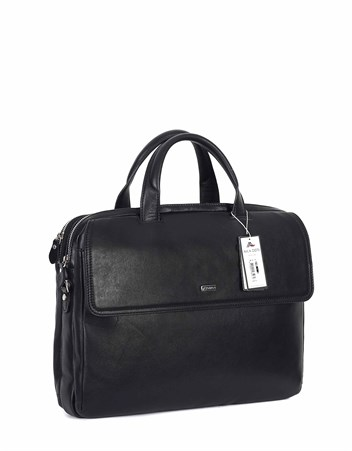 Genuine Leather Briefcase - 248 - 1