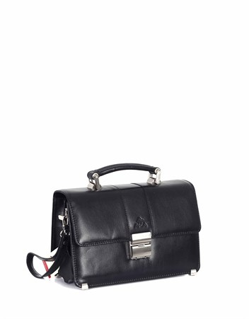 Genuine Leather Portfolio Bag - 148 - 1
