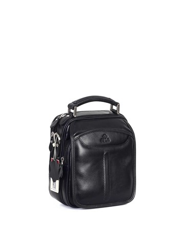 Genuine Leather Portfolio Bag - 344 - 1