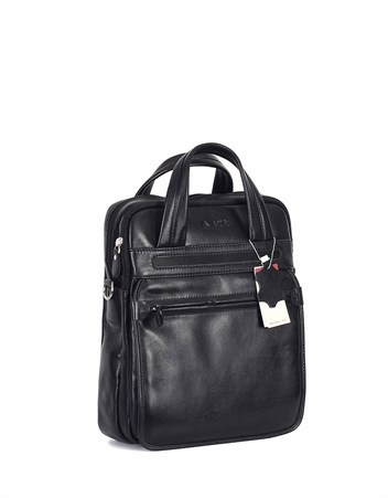 Genuine Leather Portfolio Bag - 374 - 1