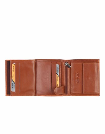 Men's Leather Wallet - 543 - 5