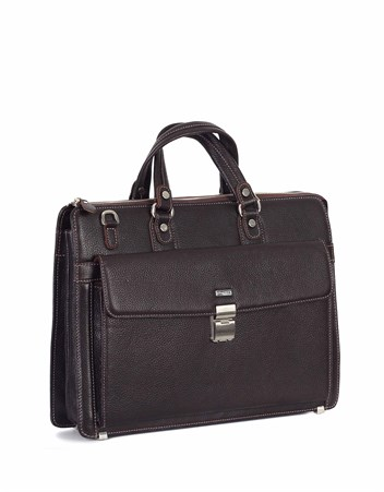 Genuine Leather Briefcase - 240 - 4