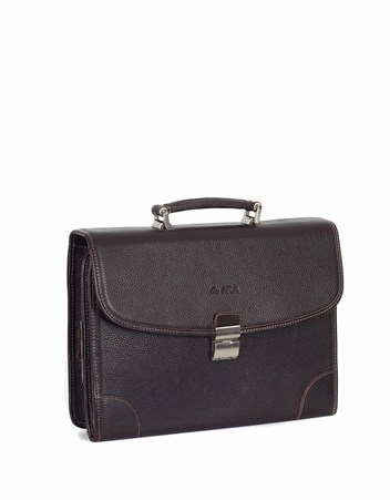 Genuine Leather Briefcase - 255 - 4