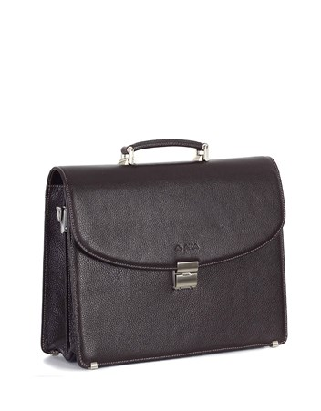 Genuine Leather Briefcase - 297 - 4