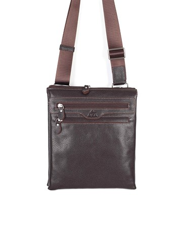 Genuine Leather Shoulder Bag - 326 - 4