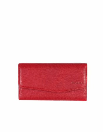 Genuine Leather Womens Wallet-472 - 8