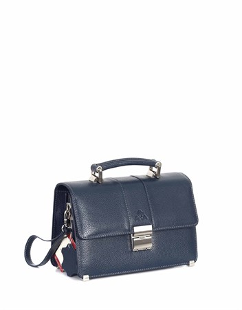 Genuine Leather Portfolio Bag - 148 - 17