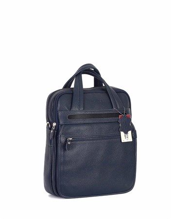 Genuine Leather Portfolio Bag - 374 - 17