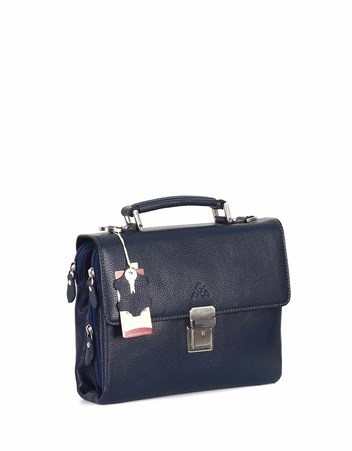 Genuine Leather Portfolio Bag - 350 - 17