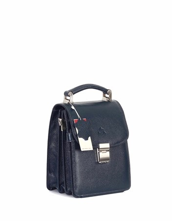 Genuine Leather Portfolio Bag - 301 - 17