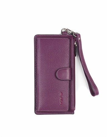 Genuine Leather Womens Wallet-451 - 20