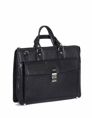 Genuine Leather Briefcase - 240 - 2