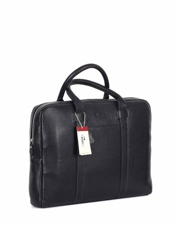 Genuine Leather Laptop Bag - 254 - 2