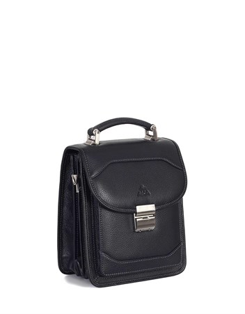 Genuine Leather Portfolio Bag - 300 - 2