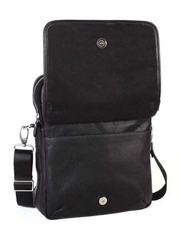 Genuine Leather Portfolio Bag - 374 - 2
