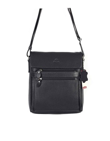 Genuine Leather Shoulder Bag - 323 - 2