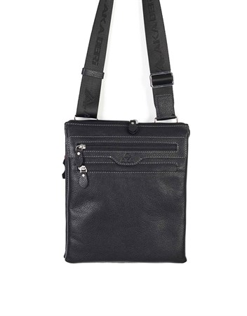 Genuine Leather Shoulder Bag - 326 - 2
