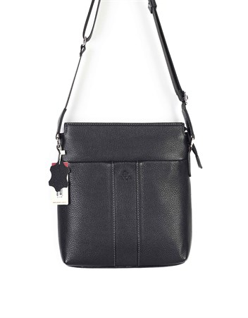 Genuine Leather Shoulder Bag - 329 - 2