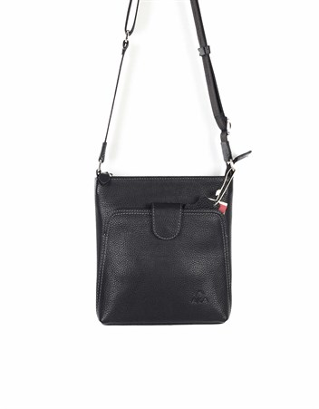 Genuine Leather Shoulder Bag - 316 - 2
