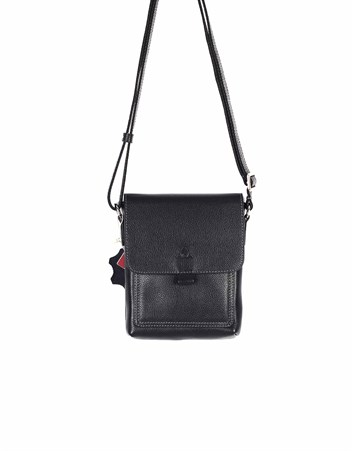 Genuine Leather Shoulder Bag - 321 - 2
