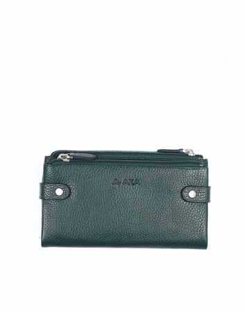 Genuine Leather Womens Wallet-400 - 21
