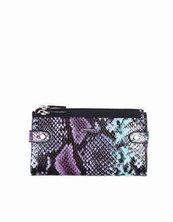 Genuine Leather Womens Wallet-400 - 05