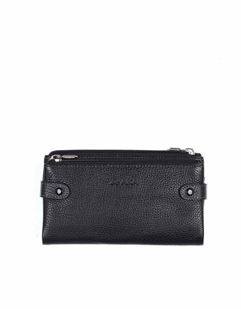 Genuine Leather Womens Wallet-400 - 2