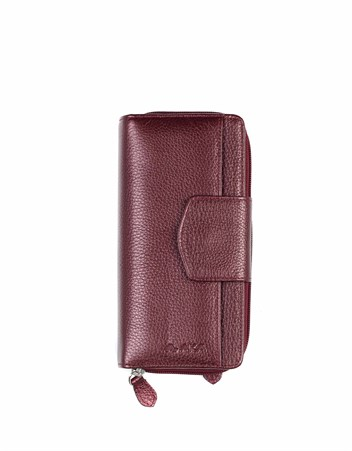 Genuine Leather Womens Wallet-428 - 07