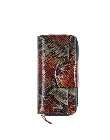 Genuine Leather Womens Wallet-428 - 105