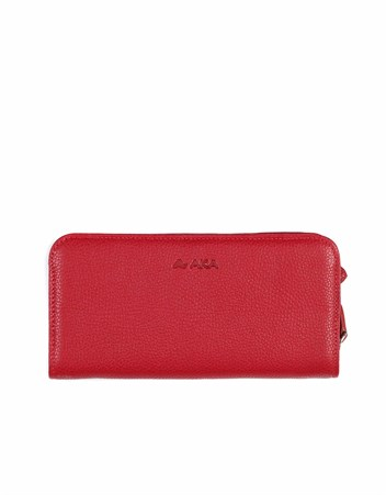 Genuine Leather Womens Wallet-436 - 8