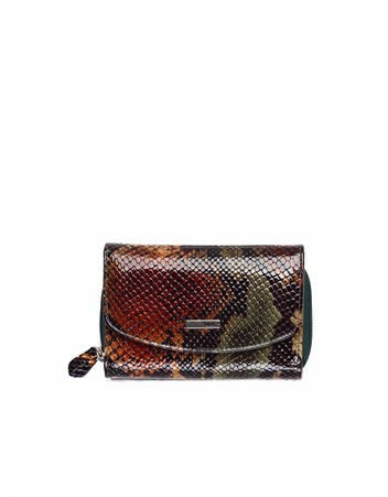 Genuine Leather Womens Wallet-442 - 105