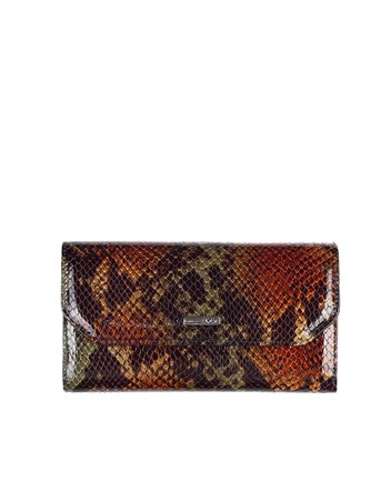 Genuine Leather Womens Wallet-490 - 105