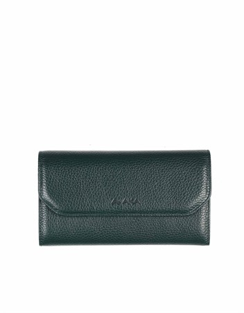 Genuine Leather Womens Wallet-490 - 21