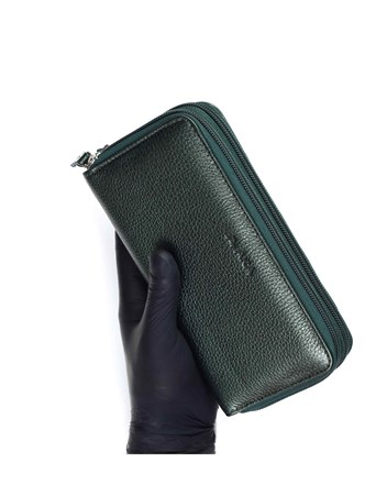 Genuine Leather Womens Wallet-495 - 08