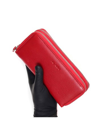 Genuine Leather Womens Wallet-495 - 8
