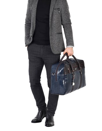 Genuine Leather Travel Bag - 5010 - 14