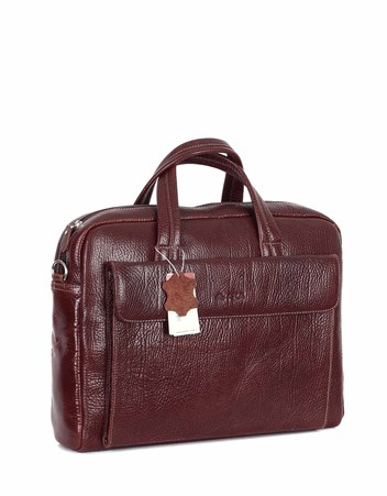 Genuine Leather Laptop Bag - 242 - 61