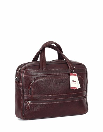 Genuine Leather Laptop Bag - 251 - 61
