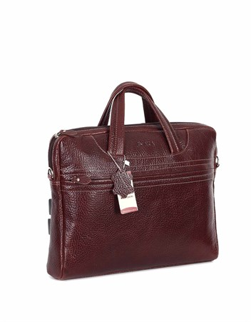 Genuine Leather Laptop Bag - 298 - 61