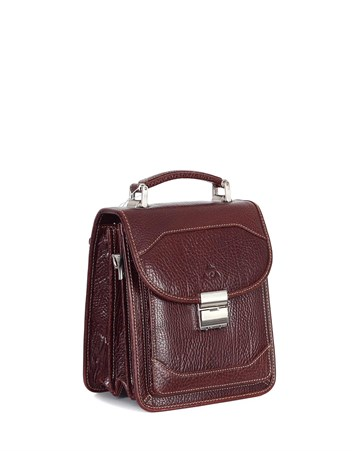 Genuine Leather Portfolio Bag - 300 - 61